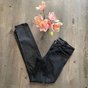AMERICAN EAGLE / LONG RIPPED JEGGINGS